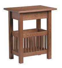 expanding table plans furniture end tables with drawers and magazine rack mission red