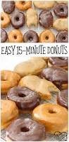 easy 15 minute donuts 3 recipes maple bars donuts and