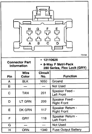 do you have wiring diagram for a bose system from a envoy 2002
