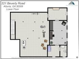 The Ansley Floor Plan 221 Beverly Metro Atlanta Real Estate Specialist