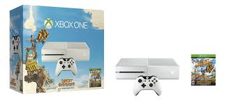 xbox one consoles and bundles xbox white xbox one sunset overdrive bundle promotes new ip instead of
