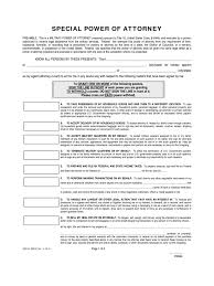 Financial Power Of Attorney Form by Military Power Of Attorney Form 4 Free Templates In Pdf Word