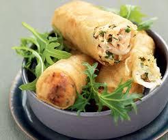 cuisiner des nems nems de saumon chèvre frais recette gourmand