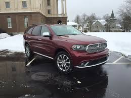 dodge crossover on the road review dodge durango citadel anodized platinum awd