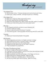 free printable thanksgiving meal planner the idea room
