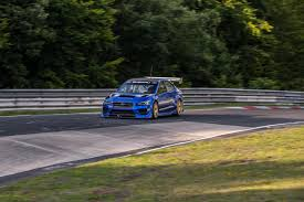 subaru nurburgring watch subaru set a nurburgring lap record autoguide com news