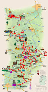 Map Of Germany And Austria by Germany U0027s Fairy Tale Road A Grimm Fairy Tales Map Takes You To