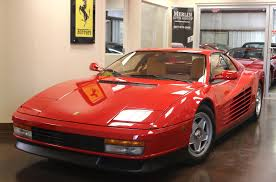 ferrari testarossa used 1987 ferrari testarossa stock p3259 ultra luxury car from