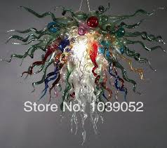 Light Fixtures Sale Sale Chandelier Chihuly Blown Glass Light Fixture In
