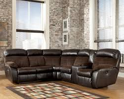Loveseat With Recliner Buy Berneen Coffee Laf Reclining Loveseat With Raf Reclining