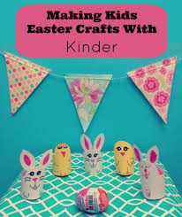 making kids easter crafts with kinder hello creative family