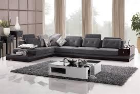Contemporary Microfiber Sofa Contemporary Sectionals Sofas Home Design