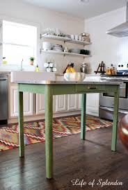 sur la table kitchen island diy kitchen island table from for small promosbebe