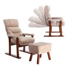 armchair modern japanese style upholstery furniture wood sofa armchair ottoman