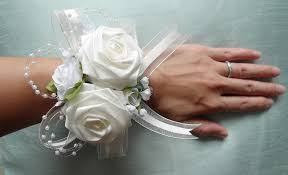 wrist corsages for homecoming origami wrist corsage for wedding anniversary prom birthday