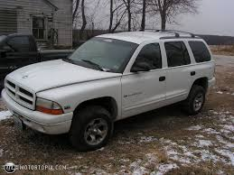 Dodge Durango White - 1998 dodge durango id 10235