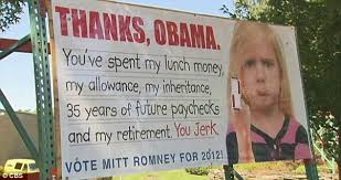 Funny Anti Obama Memes - outrage after anti obama billboards call president a village idiot