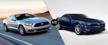 camaro vs mustang ford mustang ecoboost vs 2015 chevy camaro