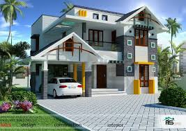Contemporary 3 Bhk Homevaastu Oriented Layout And Design Kerala