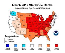 us weather map by month u s records warmest march more than 15 000 warm temperature
