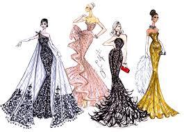 fashion designer hayden williams fashion illustrations carpet by