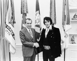 elvis presley and richard nixon the story behind the photo time com
