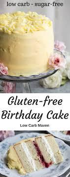 gluten free birthday cake best gluten free low carb birthday cake recipe sugar free