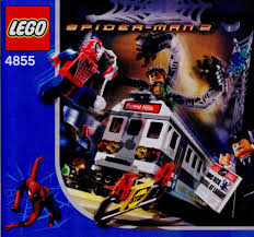 lego spiderman u0027s train rescue instructions 4855 studio spiderman