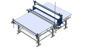 manual fabric spreading machine ul 3 youtube