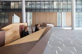 Designer Reception Desks Reception Desk Design Five Of The Best In Designcurial