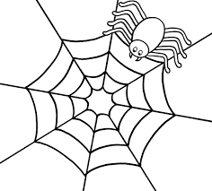 elegant spider coloring pages 11 seasonal colouring pages