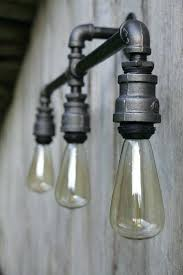 Edison Bulb Wall Sconce Edison Bulb Pendant Top Blue Ribbon Industrial Wall Mount Light
