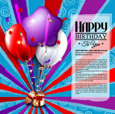 happy birthday wishes card free vector download 14 865 free