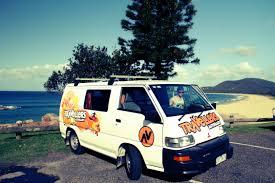 mitsubishi van 2016 campervan hire chubby camper travellers autobarn