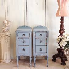nightstands how to paint shabby chic furniture video repurposed