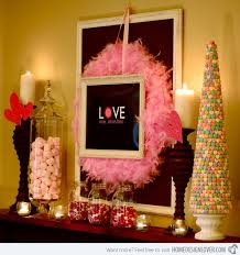 Valentine S Day Tree Decor by 15 Ways To Decorate Your Mantles This Valentine U0027s Day Home