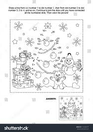 100 christmas coloring pages and puzzles santa claus