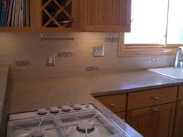 How To Install A Mosaic Tile Backsplash In The Kitchen by Setting Different Thicknesses Of Tile For Inserts