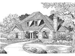 French Home Plans Dove Creek Country French Home Plan 055s 0004 House Plans And More