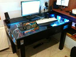 Diy Pc Desk Custom Gaming Desk Search Diy Pinterest Gaming Desk