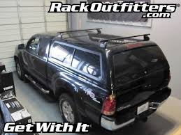 Truck Bed Bars Thule Podium Square Bar Base Roof Rack For Fiberglass Truck Cap