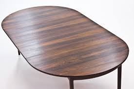 rosewood dining room furniture rosewood dining table by ib kofod larsen for seffle möbler 1960s