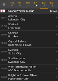 Jadwal Liga Inggris Kick Liga Inggris 2017 2018 Jadwal Pekan Perdana Arsenal