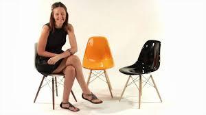 replica eames dsw side chair fibreglass from matt blatt youtube