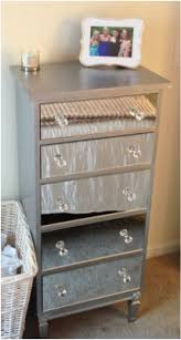 How To Make A Mirrored Nightstand Diy Diy Mirrored Dresser Silver U0026 Pink Nails