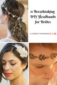 headbands for 11 breathtaking diy headbands for brides allfreediyweddings