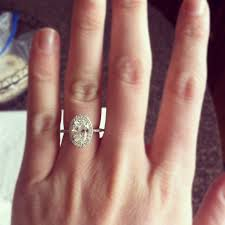 Oval Wedding Rings by Big Engagement Rings On Finger 22 Rings Pinterest Engagement