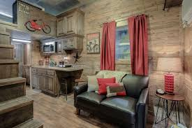 215 Square Feet Rustic Container Cabin U2013 Tiny House Swoon