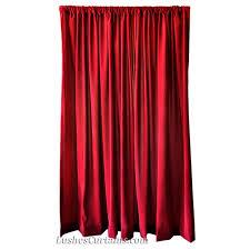 Silk Velvet Curtains 13 Ft High Flocking Velvet Curtains Ready Made Burgundy Drapes
