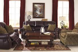 Power Sofa Recliners Leather by Top Grain Leather Match Reclining Power Sofa With Nailhead Trim By